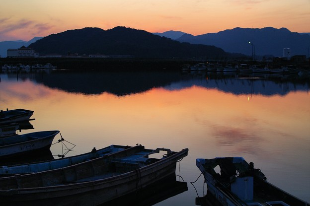 Photos: 北九州の漁港にて2