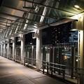 Photos: 駅へ続く回廊