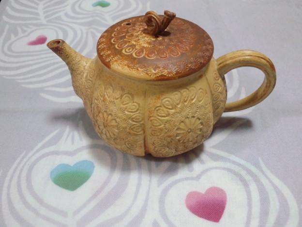 とうとう茶壺を買ってしまいました。一目惚れ。めちゃめちゃ可愛いヽ(...