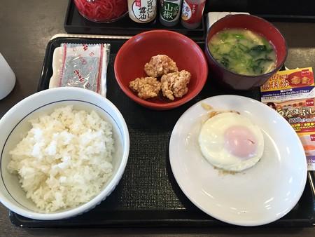 なか卯朝食