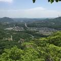 写真: 稜線からの眺め