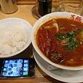 写真: 万豚記 日本一辛い坦々麺