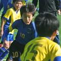 Photos: 久地FCの練習試合での甥