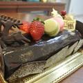 Photos: クリスマスのチョコレートケーキ