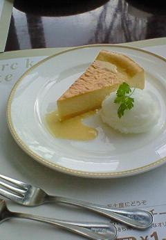 柚子のチーズケーキ&シャーベット(2007年)