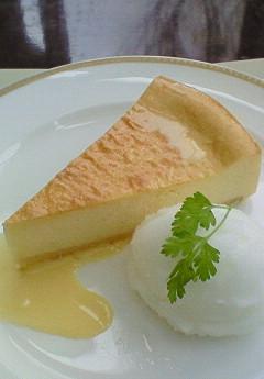 柚子のチーズケーキ&シャーベット(2007年)アップ
