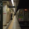 都営新宿線九段下駅5番線 都営10-250F各停八幡山行き前方確認
