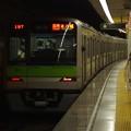 都営新宿線新宿三丁目駅2番線 都営10-430F各停本八幡行き前方確認