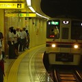 都営新宿線篠崎駅1番線 京王9030急行笹塚行き通過