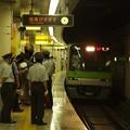 都営新宿線篠崎駅1番線 都営10-320F急行笹塚行き通過(ヒキ)