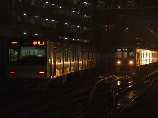 京王線笹塚駅2番線 都営10-470F急行橋本行き後方よし