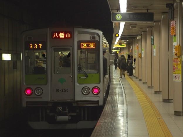 都営新宿線小川町駅3番線 都営10-250F各停八幡山行き前方確認