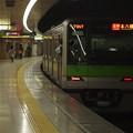 都営新宿線曙橋駅2番線 都営10-450F各停本八幡行き前方確認