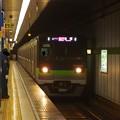 Photos: 都営新宿線岩本町駅1番線 都営10-620F急行笹塚行き通過