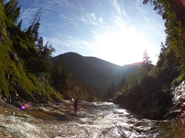 滝の楽園 8.12 6:45