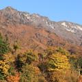 Photos: 八海山と紅葉
