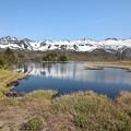 写真: 一湖と知床連山 (2)