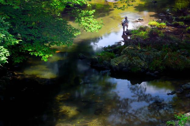 渓流釣り (2)