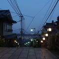 写真: 黄昏の生駒山上