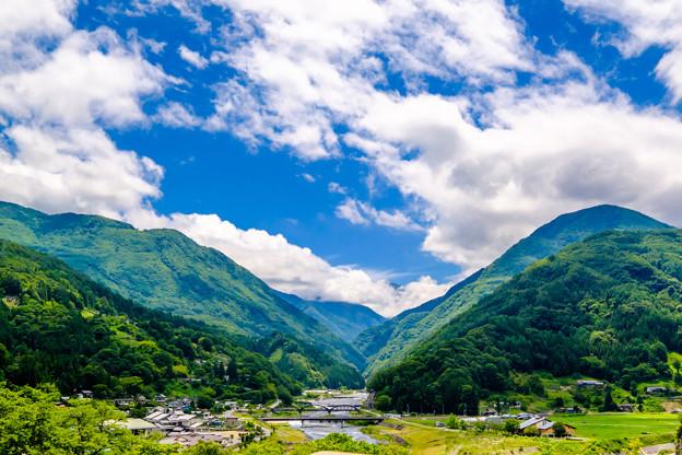 日本の秘境、限界集落「大鹿村」