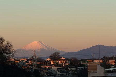 元日の富士3