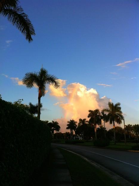 写真: Rainbow Clouds 9-28-16