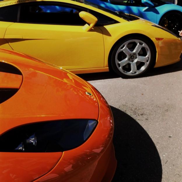 写真: Orange Yellow and Skyblue 2-11-17