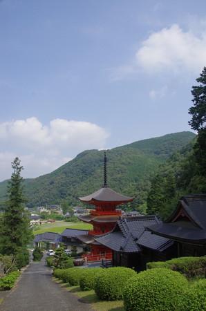 盆の美作長福寺