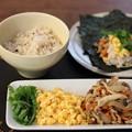 Photos: サバそぼろの手巻き寿司