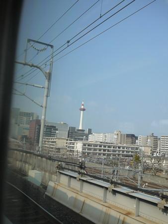京都に近づいてきた!カメラカメラ!とるぞー!