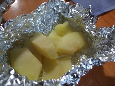 マリンにはリンゴを焼いたよ