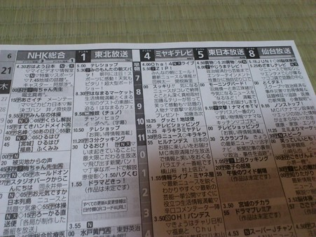 宮城 県 テレビ 番組 表 NHK仙台放送局
