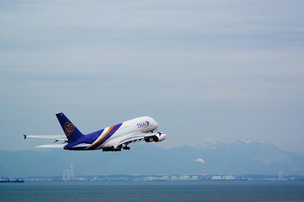 A380離陸