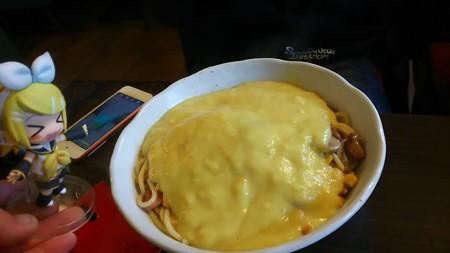 け~ひん☆さんの、コーンスープスパ! リン:「めっちゃ黄色い♪」