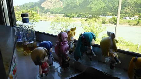五泉→咲花間、阿賀野川に沿って登っていきますよ!!