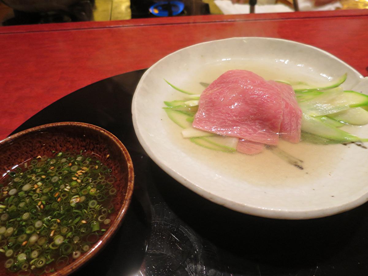 長野県産サーロインのしゃぶしゃぶ
