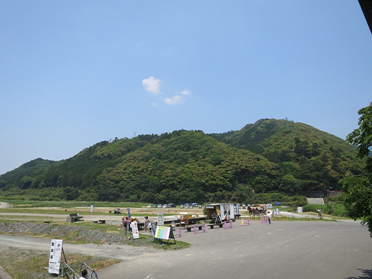 亀岡駅の眺め