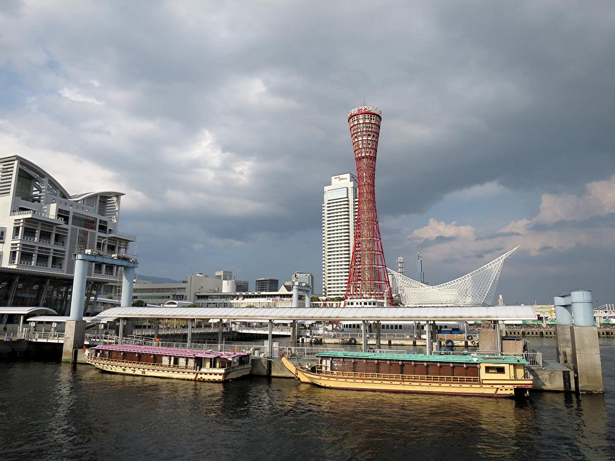 屋形船とタワー
