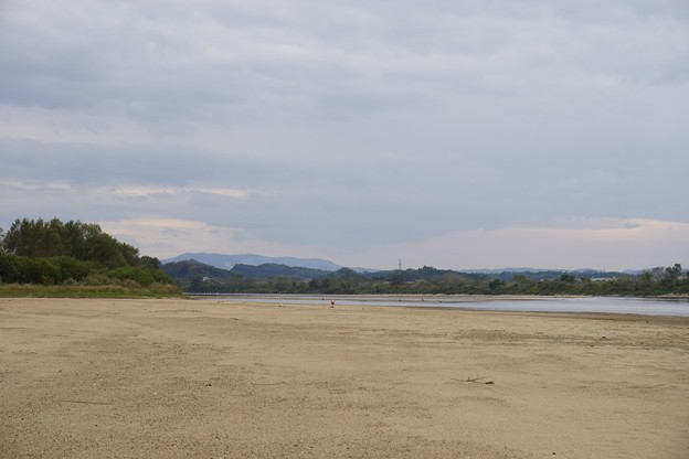 Photos: 川原で