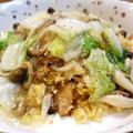 写真: 野菜と茸のあんかけ炒飯