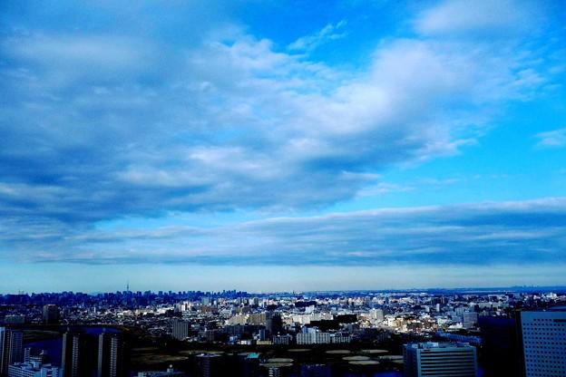川崎市から東京方面