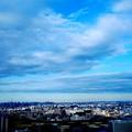 写真: 川崎市から東京方面