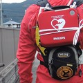 写真: AED