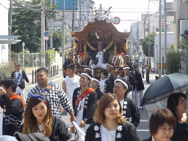 2016/5/16城東区永田町春祭り