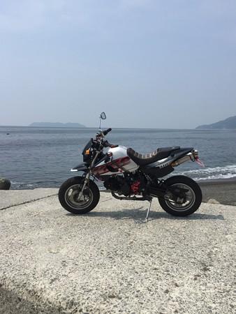 沼島とKSR110