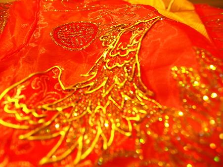ベトナムの結婚式衣装5