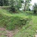 写真: 韮山城跡障子堀っぽい遺構