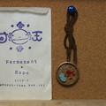 パーマネントラプスさんのウーパールーパーのネックレス。樹脂の中に入ったウーパールーパーが可愛い(*´∀`*)