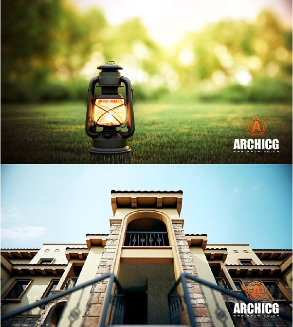 ArchiCG 3ds Max Vray 2.0 建筑动画中文视频教程:景观住宅篇+项目流程篇