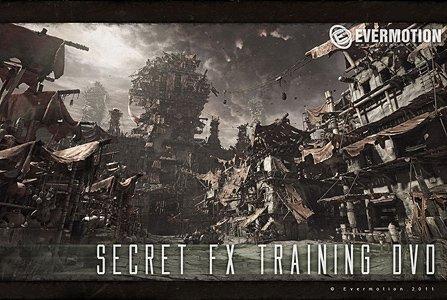 三维场景制作秘诀Flash电子书教程(EverMotion Secret FX Training BOOK)